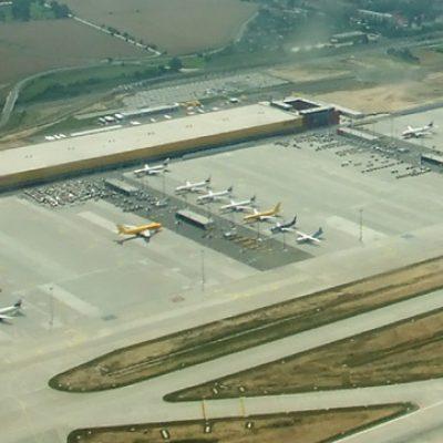 FERTIGSTELLUNG DES DHL AIR HUB EUROPE CARGO 2.1 UND 2.2 AM FLUGHAFEN LEIPZIG